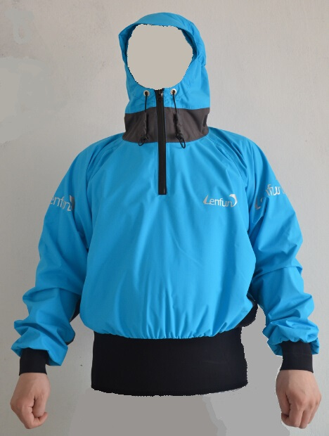 2015 semi-dry cags ,paddle jacket splash tops,sailing ,canoeing spray jackets,Touring,Kayaking ,Sea Kayak,Flatwater,Rafting(China (Mainland))