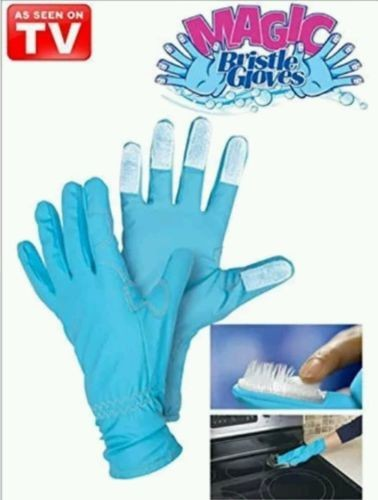 Перчатки -щетки Magic bristle gloves. Купить, Цена, Бесплатная доставка