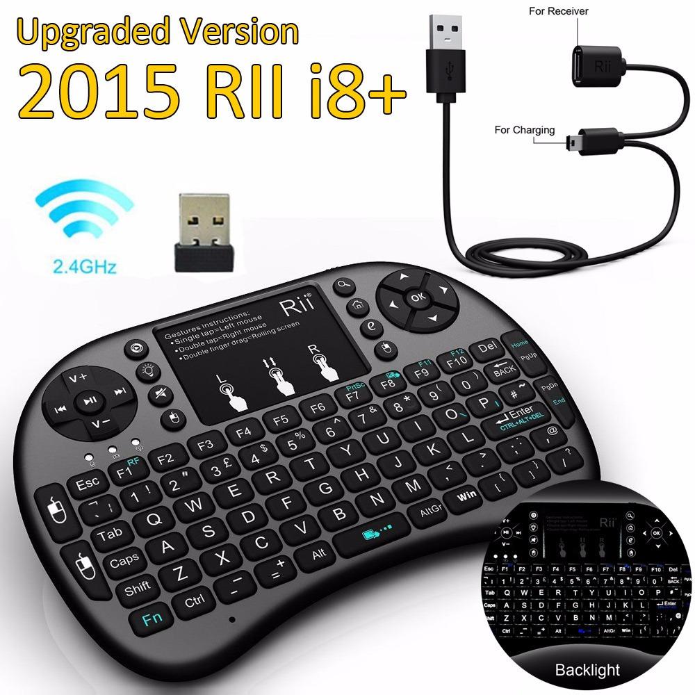 [해외]원래 RII의 I8 + 플러스 안드로이드 TV 박스 태블릿 PC 윈..