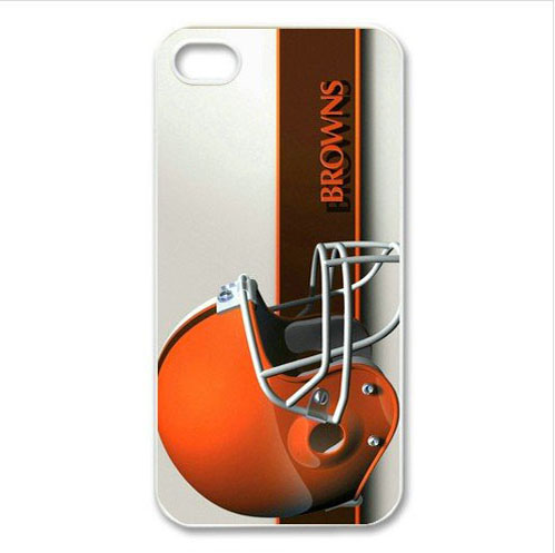 Free Shipping Back Cover For iPhone 5 5s 6 6plus NFL Browns logo back covers(China (Mainland))