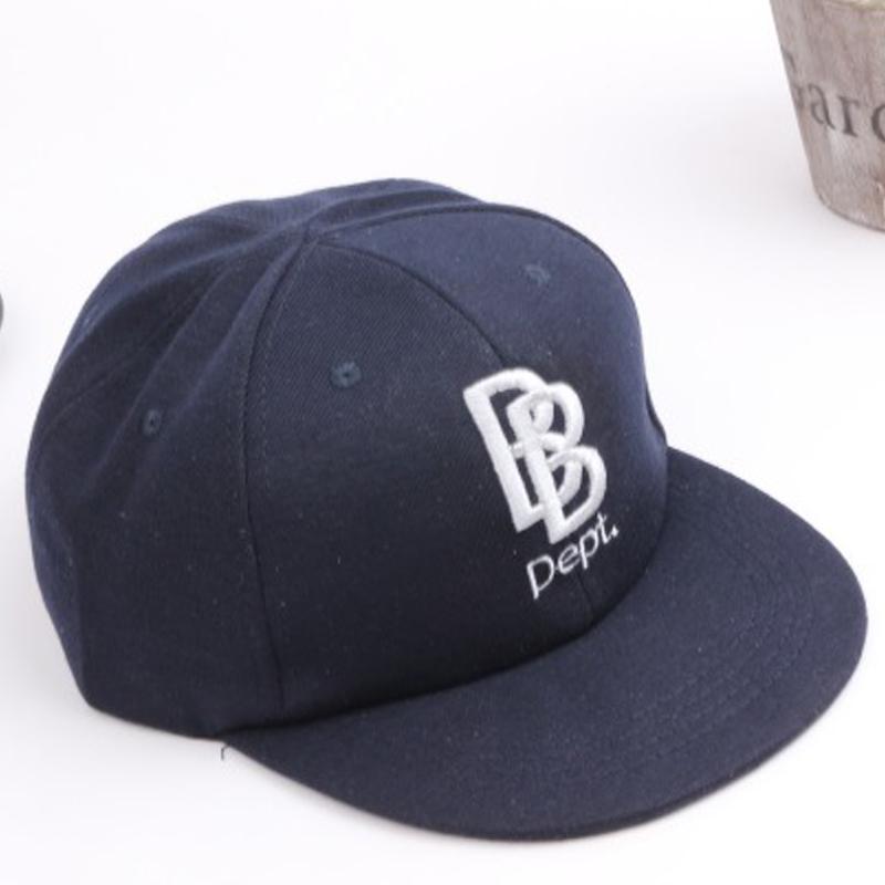 2016 New Cotton Children B Letter Baseball Cap Kid Boys And Girls Bones Snapback Hip Hop Fashion Flat Hat Baby Casquette(China (Mainland))