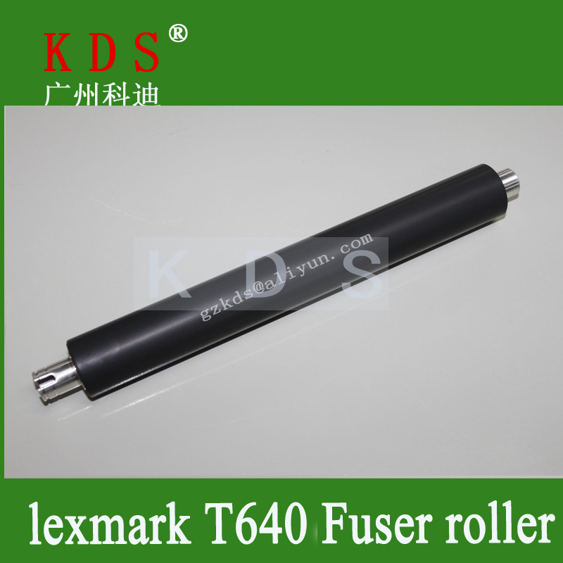 Printer Supply Spare Sarts heating Roller for Lexmark T640 T642 T644 Fuser Roller Wholesale in GuangZhou(China (Mainland))