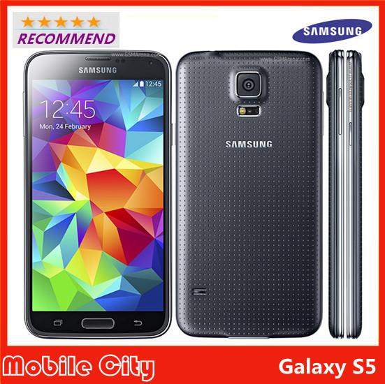 "Refurbished Unlocked S5 Original Samsung Galaxy S5 G900F Mobile Phone 5.1"" Quad Core Smartphone 16MP GPS NFC WIFI Free Shipping(China (Mainland))"