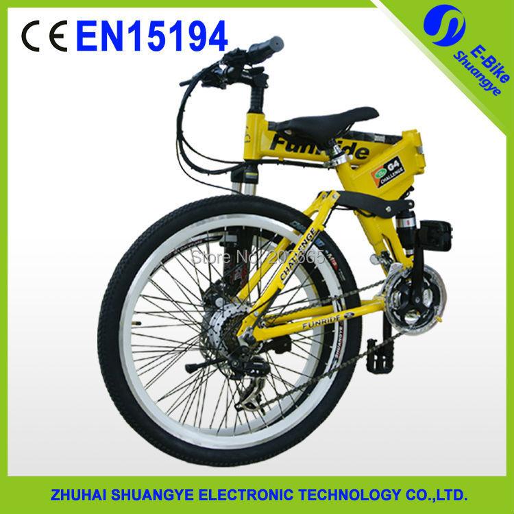 high quality folding electric mountain bicycle 36V 350W motor(China (Mainland))