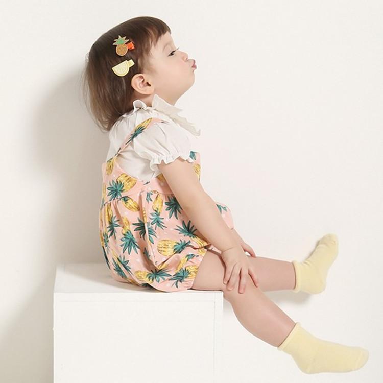 Summer Baby Girls White Solid Blouses Kids Princess Ruffles Sleeve Shirts Lotus Leaf Collar Shirt Girl Cute 2016 Fashion Clothes