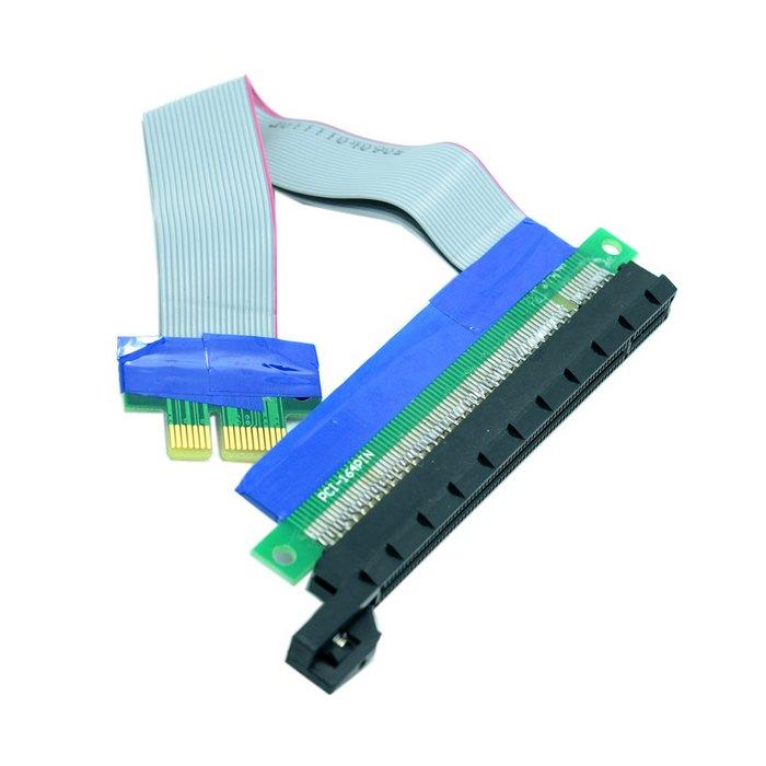 Райзер PCI-E PCI-Express pcie PCI Express 1x 16x pci-e x16 pcie x1 Расширение Flex Кабель Extender Конвертер Riser Адаптер карт(China (Mainland))