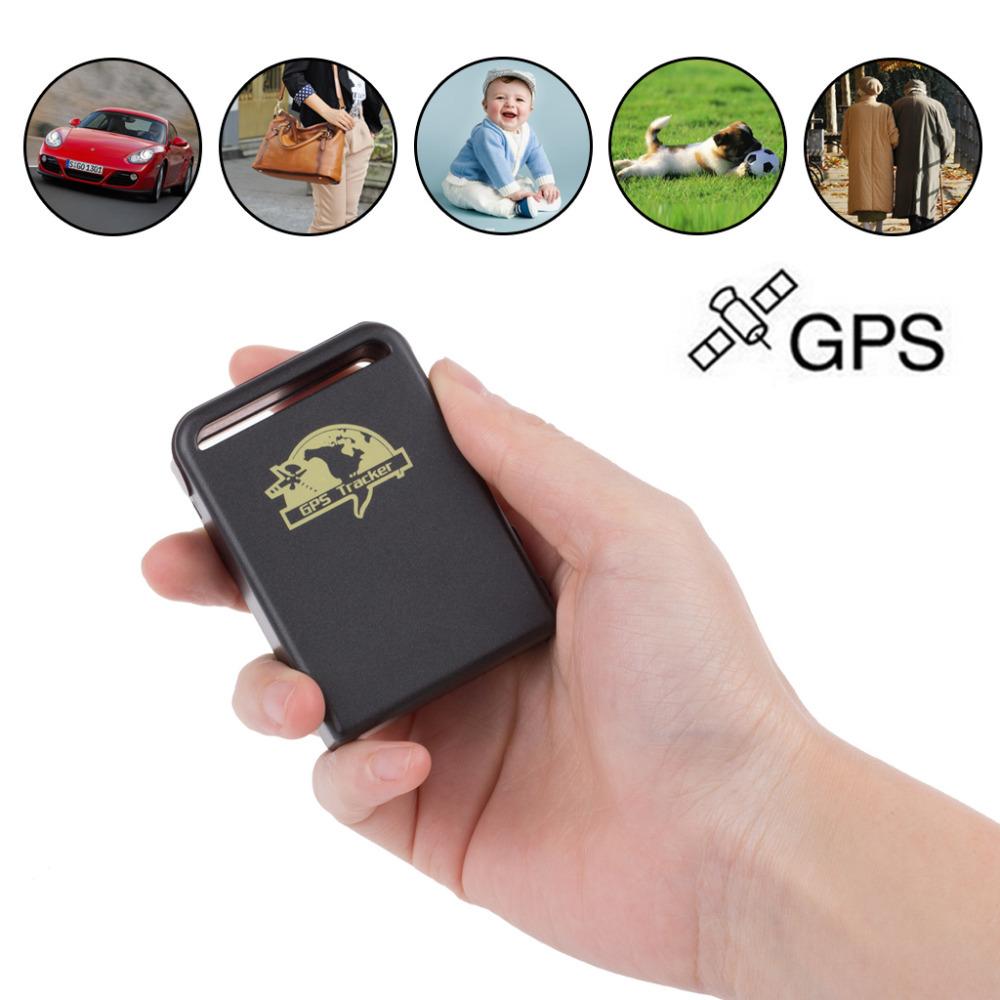 Мини-gps локатор слежения за автотранспортными средствами локатор устройство gsm gprs gps отслежывателя tk102 в режиме реального времени глобальный локатор