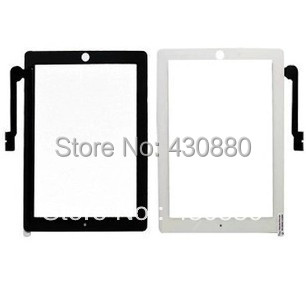 Touch Screen Glass Digitizer Replacement+ Adhesive Glue Tape 3M With Home Button for iPad 3 digitizer Black&white Free Shipping(China (Mainland))