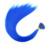 20 ''14 цветов Женщины Длинные Косплей Партии Синтетические Волокна Пера Гризли Я Кончика Волос Теплостойкость Свободного Кольца бисер