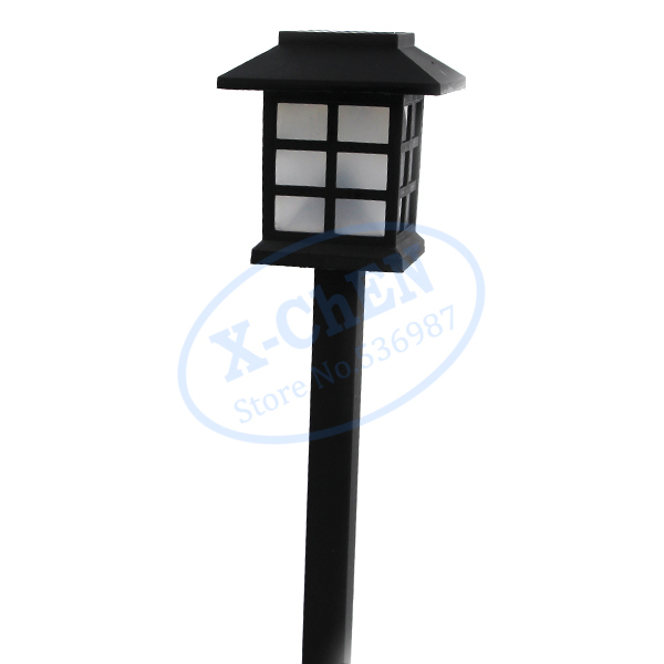 6pcs solar yard garden lights landscape stake lamps outdoor waterproof