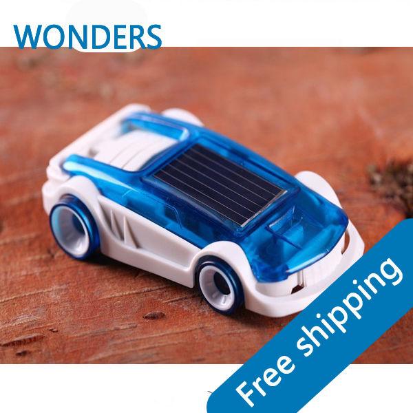 Solar car saline vehicle hybrid novelty children birthday gift toys(China (Mainland))