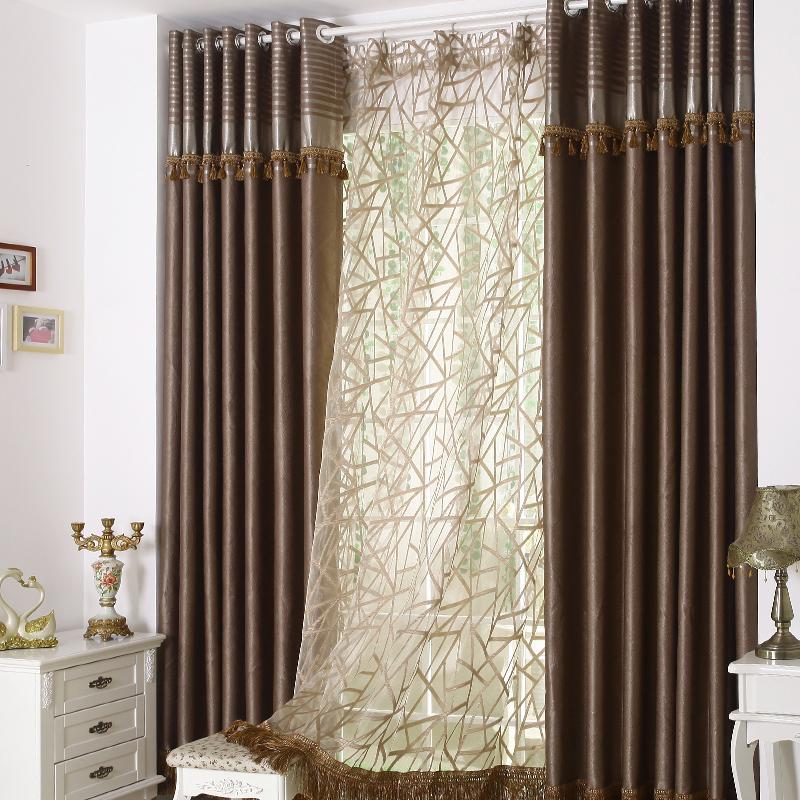 Cortinas de sombra cortinas cortina do estilo chin s moderno personalizado acabado pronto - Estilo de cortinas ...
