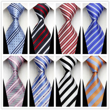 Man's Fashion Accessories Business Party Casual Neckties Striped Brand New Knitting Jacquard Woven Tie For Man con100(China (Mainland))