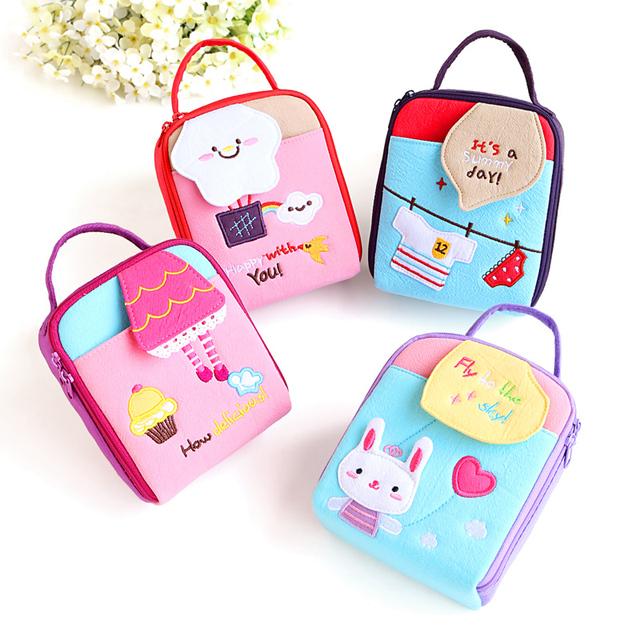 Hot-selling Kawaii Bag Cartoon Style  Candy Color Camera Bag or Ladies' handbags