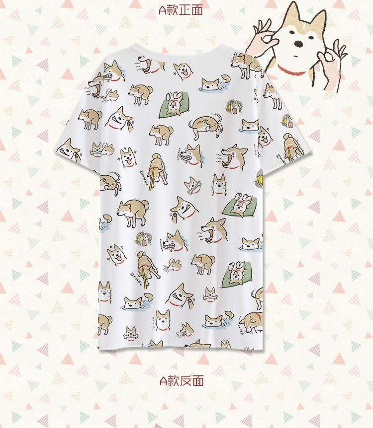 Hot  doge T-shirt Anime men tshirt Milk Wire short-sleeve Summer student Tees tops As Birthday gift