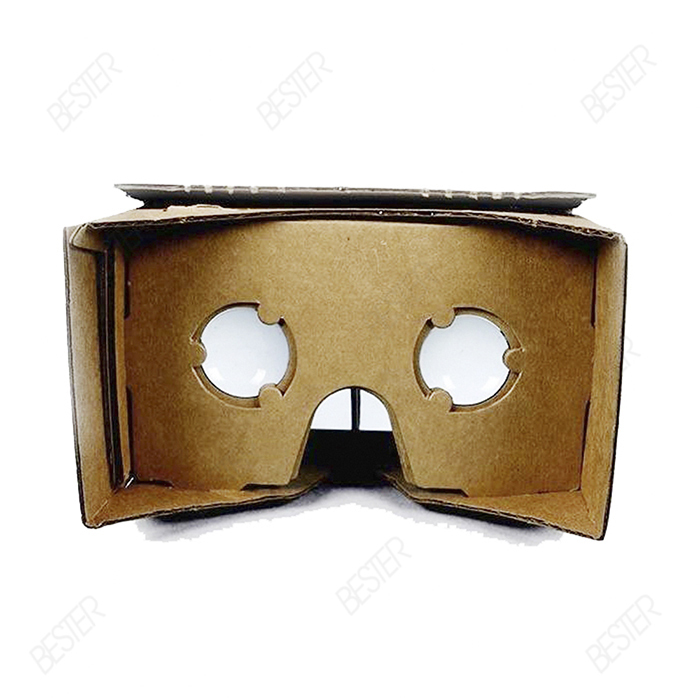 Hot sale DIY Google Cardboard Cellphone Virtual Reality 3D Glasses Glass 5.5inch for iPhone Samsung HTC Cellphones(China (Mainland))