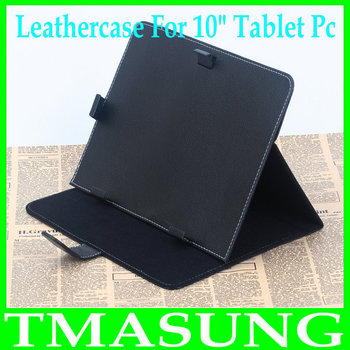 2014 Free shipping 10 inch  leather case cover for tablet  like sanei n10 cube u30gt  ainol hero10 Ampe A10 Pipo m3 etc