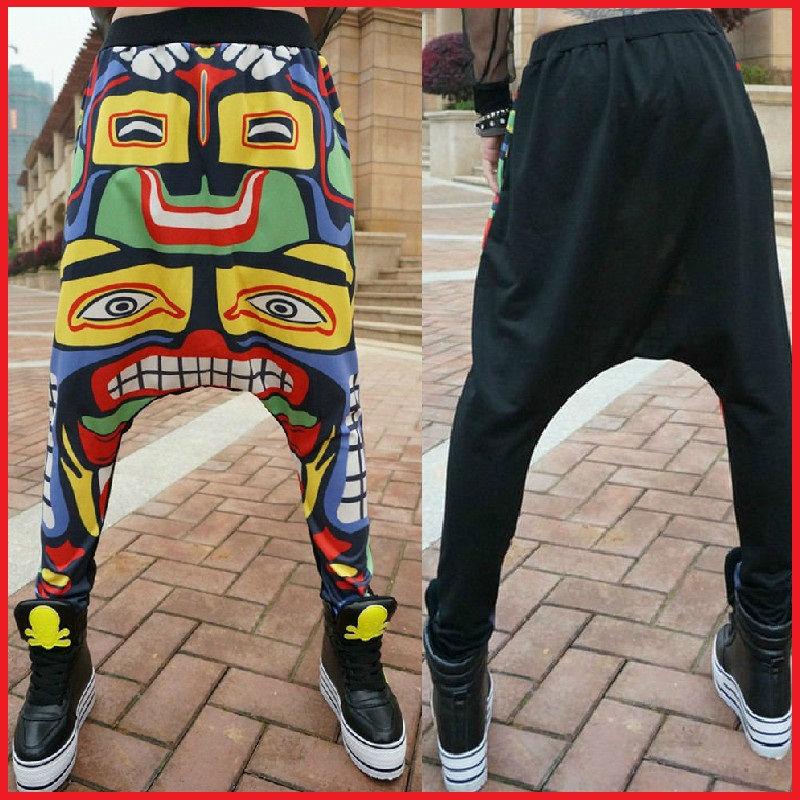 Aliexpress.com  Buy 1026 Men Harem Pants Hip Hop Saruel Swag Sarouel Moleton Calca Pantalon Men Low Drop Crotch from Reliable pants stripe suppliers on
