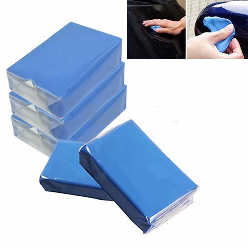 High Quality 5pcs Magic Blue Clay Bar for Car Auto Detailing Cleaner Car Truck Washer Remove Wash Marks Cleaning Care Tools