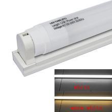 JIAWEN LED T8 Plastic Tube 1200mm 18W 1440lm White Milky Cover ,W / T8 tube fixture/support/bracket(AC110-240V,6pcs/lot)(China (Mainland))