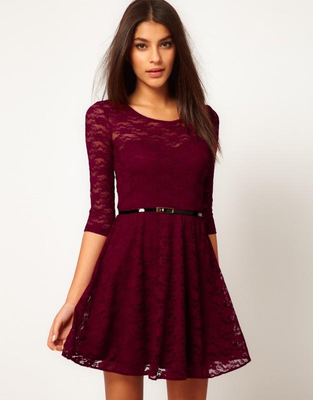 Платье из гипюра для девочки сшить