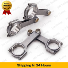 Forged Connecting Rods & Bolts For Audi A3 A4 A6 S4 TT VW Golf MK4 Gti 1.8T 2.0L Passat Golf Gti 225 16V 20V H-beam Conrod 800HP(China (Mainland))