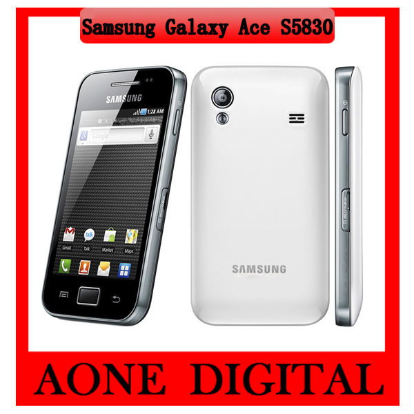 S5830 Original Samsung Galaxy Ace Wifi Refurbished Android Smart Cell Phone Free Shipping(China (Mainland))
