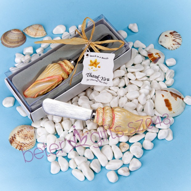 Free Shipping 100box unique beach party Spreader Favor SZ048 Wedding party Gift ideas(China (Mainland))