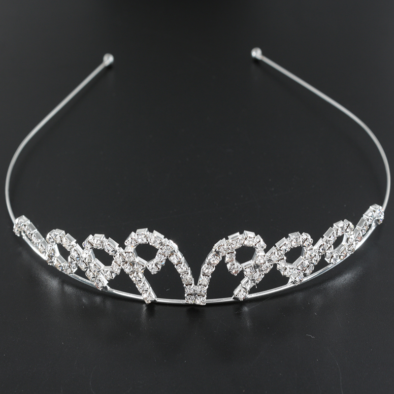 Wedding Hair Accessories For Bride Dress Up Tiara Crown Pageant Crystal Hairband Girls Party Gifts Coronas De Cristal Z50(China (Mainland))