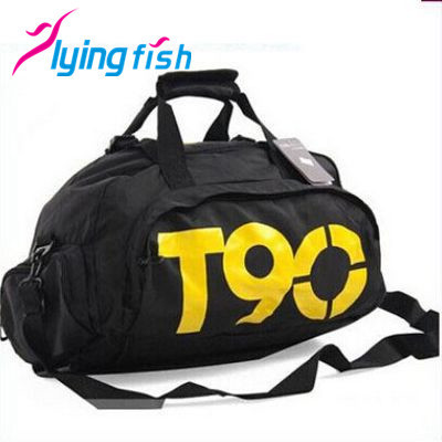 Fashion T90 Brand Waterproof Nylon Handbags Multifunctional Outdoor Men/Women travel backpacks Polyester sports bags WZS006(China (Mainland))