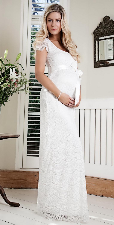 Нарядное платье для свадьбы для беременных