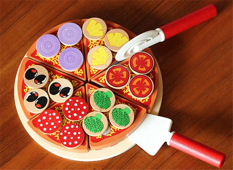 achetez en gros en bois pizza jouet en ligne des grossistes en bois pizza jouet chinois. Black Bedroom Furniture Sets. Home Design Ideas