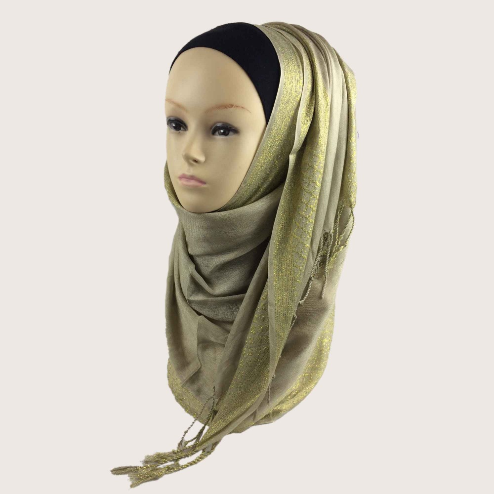 2016 NEW SHIMMER GLITTER JERSEY HIJAB SHAWL WRAP SCARVES EID WEDDING BRIDAL, 26 colors for your choice,Free Shipping,PH017(China (Mainland))