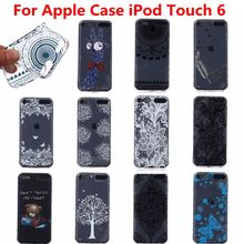 25 Styles Ultra Thin Soft TPU Cell Phone Back Case Cover For Apple iPod Touch 6 Case Touch6
