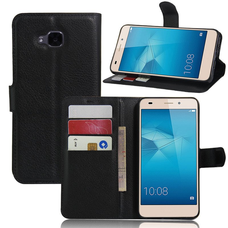 Huawei Honor 5C Euro Version NO Fingerprint Hole Case Coque Funda Wallet Flip Cover PU Leather  -  CFHQ Store store