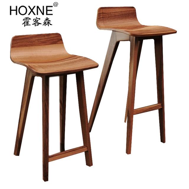 Huo sen morph chaise de bar salon des passagers chaise de for Chaise de bar en bois