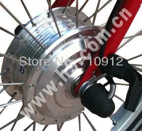 OR01A4 24V 160rpm 118 Front 80mm Narrow  Mini Brushless Halless DC Motor CE/EN15194 Approved E-bike/Electric Bike/Pedelec