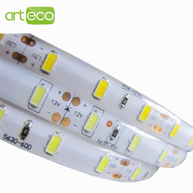 Гаджет  Waterproof 5630 SMD 5m 300 LED 12V LED strip flexible light 60 led/m,LED decorative light strip,Free shipping None Свет и освещение