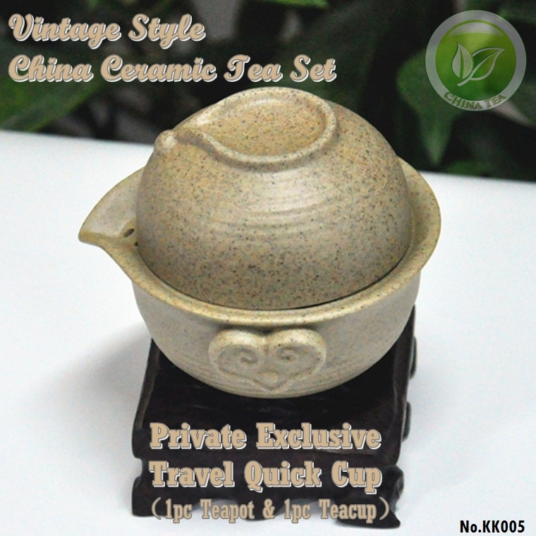 China Dehua Kiln Yao Tea Travel Set Gaiwan Kunngfu Quick Cup Sets Kungfu Vintage Ceramics Cups