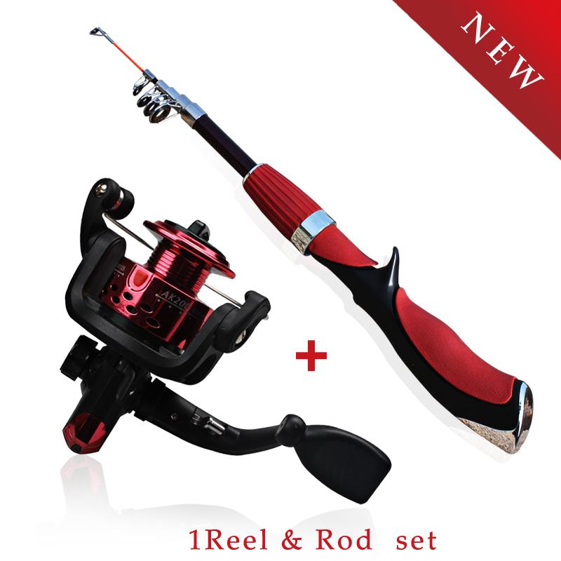 Mini fishing rod olta spinning telescopic carbon fiber for Mini fishing pole
