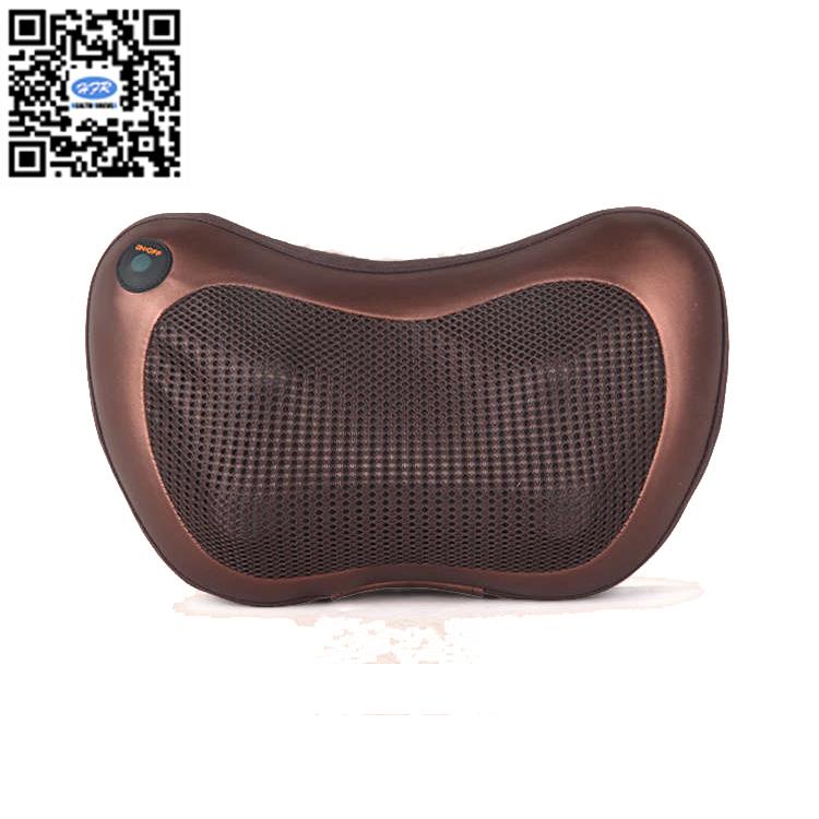 HFR-858-3D-1 Luxury Lumbar Massage Cushion with Heat Kneading and Shiatsu Neck Full Body Home&Car Massage Pillow(China (Mainland))