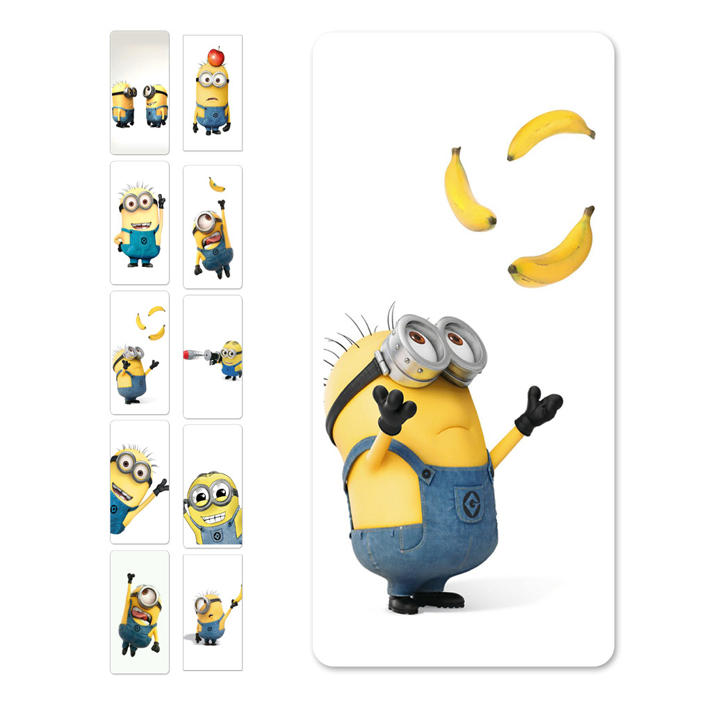 Exquisite Lovely 10000mAh Short man and banana Card font b Power b font font b Bank