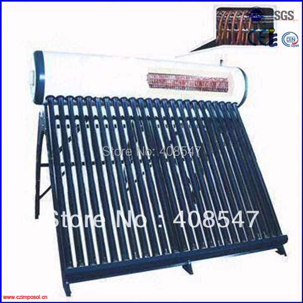 compact thermosyphon copper coil solar water heater(China (Mainland))