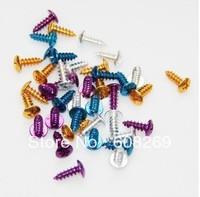 Wholesale Motorcycle pedal screw / color machine screws 6 color B004