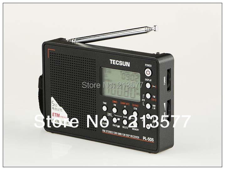 Free Shipping, PL-505 Famous TECSUN Radio,PLL DSP FM-STEREO/MW/LW /SW MULTI Radio,World Band Receiver,PL-606 Style Thin models(China (Mainland))