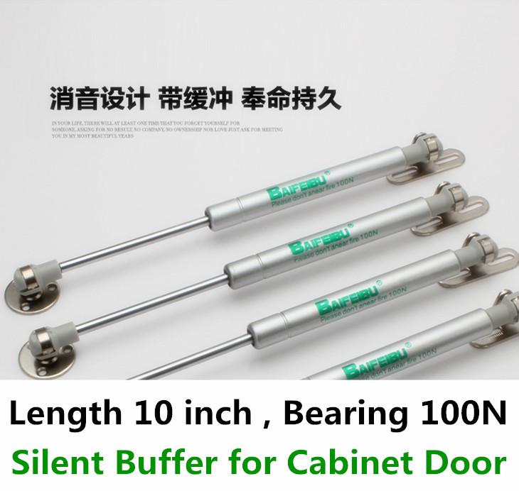 Гаджет  2pcs Pneumatic door support  BAIFEIBU Bearing 100N Hydraulic Lift Up Gas Spring Kitchen Cabinet Hardware None Аппаратные средства