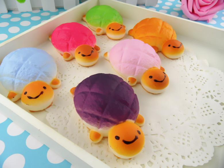 2018 Wholesale Small Cute Turtle Squishy Toys 5cm Rare Tortoise ...