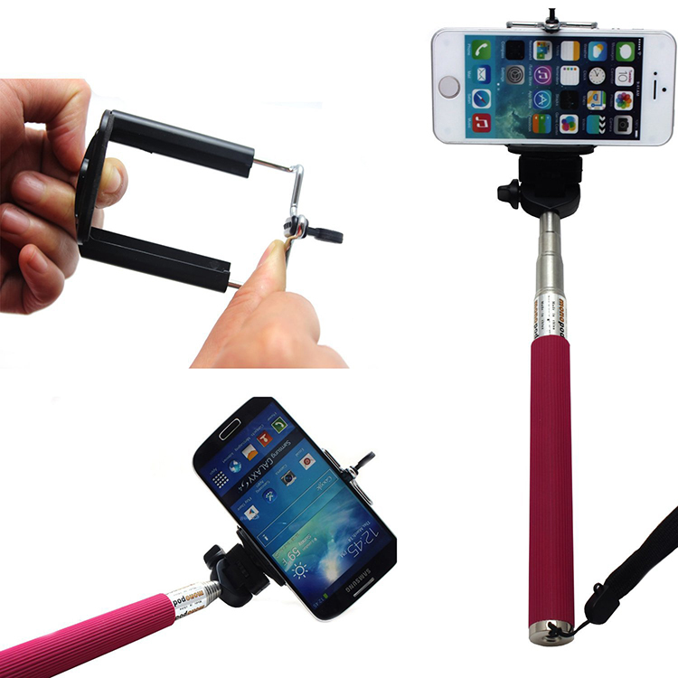 Monopod Selfie + iPhone Samsung htc Gopro Z07-1 8 inch 8 wire resistance handwritten touch screen amt98466 184 141 free shipping