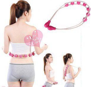 Best selling ! Multi - effect Waist and shoulder massage roller Pull back device getting a vivid relaxation Beauty Health(China (Mainland))