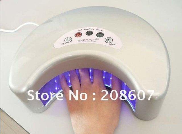 Free Shipping LED Nail UV Lamp Machine/12W Nail Art Machine,Nail Tool, Nail Beauty,Nail Drier Machine,Gel Uv Lamp